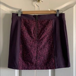 American Eagle Outfitters Skirts - Pink and Purple Mini skirt